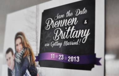 Brennen and Brittany's Save the Dates